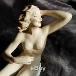 14 Vintage Wallendorf Nude Figurine German Porcelain Art Deco
