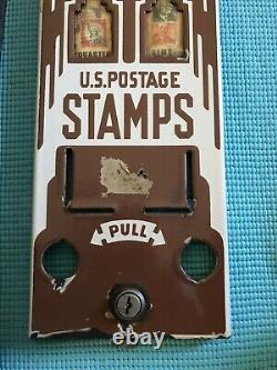 1920's Art Deco Porcelain Postage Stamp Vending Machine