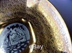 1920s Art Deco 33 Piece Lunch Tea Service 24K Gold & Platinum Arzberg Germay