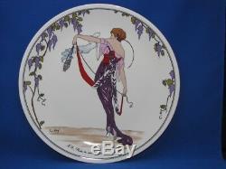 6 Place Settings Design 1900 Villeroy & Boch Mint! Art Deco Nouveau Luxembourg
