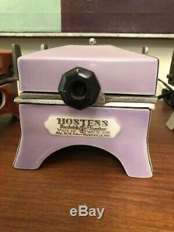 9 Art Deco Hostess Allrite Vintage Enamel Porcelain Toasters