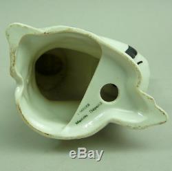 A Decorative Limoges Art Deco Figural Porcelain Pierrot Lamp Signed Elté C. 1930