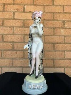 ART DECO GOLDSCHEIDER Porcelain Figurine PROMISE VIENNA