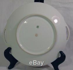 Antique Art Deco Handpainted French TV Limoges Pickard Porcelain Cake Plate