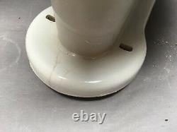 Antique Ceramic White Porcelain Complete Toilet Bowl Tank Lid Old Vtg 215-20E