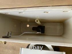 Antique Ceramic White Porcelain Complete Toilet Bowl Tank Lid Old Vtg 626-20E