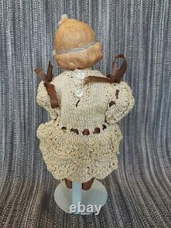Antique Gebruder Heubach Bisque Porcelain Doll Elspeth