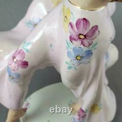 Antique Huge Royal Dux Porcelain Figurine, Gypsy Dancer