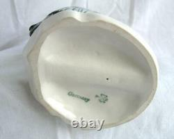 Antique Karl ENS Heron Crane Bird Volkstedt German Porcelain Figure Art Deco