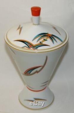 Antique Vintage 1920's ROSENTHAL Vase Kurt WENDLER Porcelain Art Deco Jugendstil