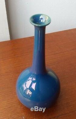 Antique early rare ceramic Sint St. Lucas Utrecht vase lustre pottery holland