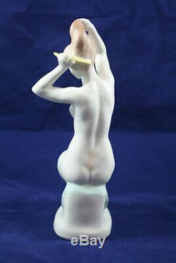 Aquincum Hungary Art Deco Porcelain Nude Figurine