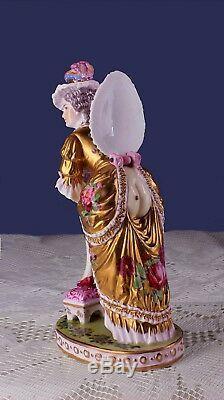 Art Deco Carl Thieme Nude Secret under Bustle German Bathing Beauty Half Doll