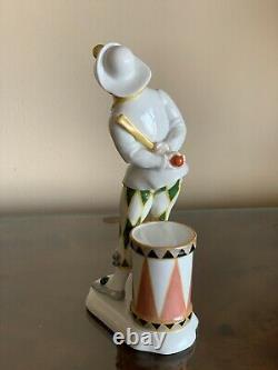 Art Deco Clown Harlequin Rosenthal Porcelain Figurine Holzer-Defanti