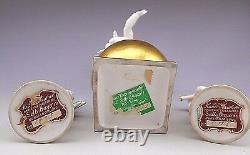 Art Deco Karl Tutter Hutschenreuther Set of 3 Porcelain Figurines