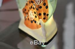 Art Deco Porcelain Lamp, perfume burner