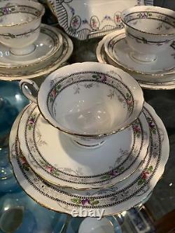 Art Deco Shelley A10775 1920's Shelley Tea Service