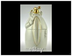 Belle Boite Art Deco Porcelaine De Paris Par Robj 1930