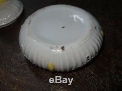 Boite à poudre porcelaine baigneuse art déco 1930's