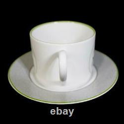Christian Dior Cup & Saucer Millila Foret Lily of the valley pattern 2 sets
