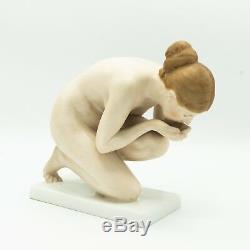 Ernst Wenck Rosenthal Nude Drinking Woman Figurine