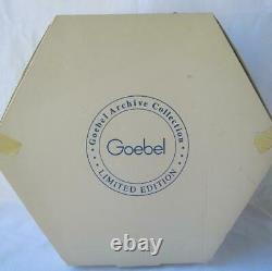 Exquisite Rare Goebel Art Deco THE COURT JESTER Archive Collection Masquerade