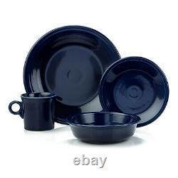 Fiesta 16-Piece Dinnerware Set Cobalt
