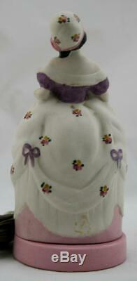 Fulper 7.5 Porcelaine Art Deco'madame Pompadour' Perfume Lamp #316 Elegant