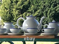 Gio Ponti for Richard Ginori Barbara Tea Set Italian Porcelain Service Antique