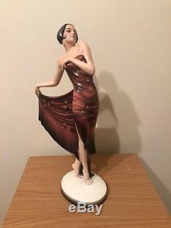 Goldscheider Wein Art Deco Porcelain Figurine