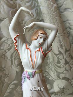 Half-doll Related/porcelain Figurin/art Deco/rosenthal/d. Charol/bavaria