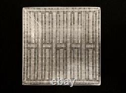 Hermes MOSAIQUE AU 24 Platinum No. 2 Square Plate