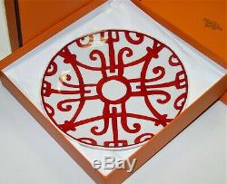 Hermes Paris Balcon du Guadalquivir bread dish # 4 with Box Tableware 170MM