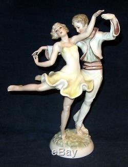 Hutschenreuther Art Deco Dancers Figurine