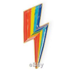 Jonathan Adler Trinket Tray Lighting Bolt Technicolor