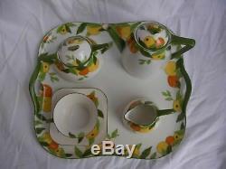 LIMOGES ART DECO PORCELAIN TEA OR COFFEE SET, 20th CENTURY