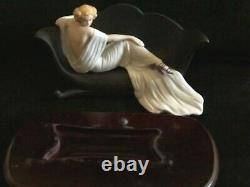 Louis Icart Porcelain Figurine 1937 Le Sofa Limited Edition Htf