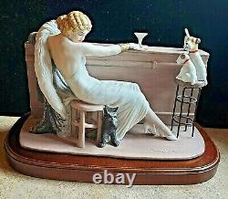 Louis Icart Porcelain Figurine Sculpture 1932 Cocktail 1162 Of Ltd Edition 10,00