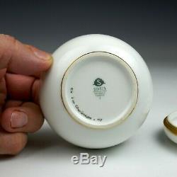 Manufacture Nationale de Sevres, an art deco porcelain box 1933