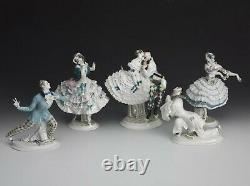 Meissen Pierrot Russian Ballet Porcelain Figurine