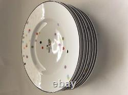 New Kate Spade Lenox Market Street Accent Plate (9 1/2 Inches) Eight