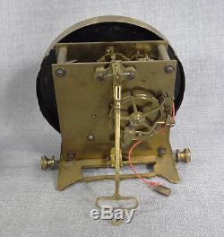 Old Art Deco German Junghans Regulator Wall Clock Porcelain Dial, Pendulum&Chimes