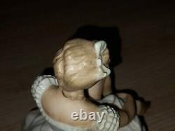 Old porcelain ballerina Wallendorf Germany