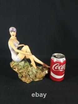 Peggy Davies Art Deco Figurine Original Colourway (ref Y042)