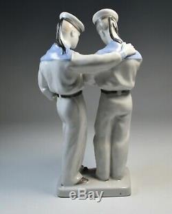 Porcelain Figurine Soviet Russia Communist Revolution Art Deco CCCP Propaganda