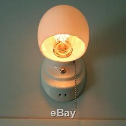 Porcelain Pull Chain Equipped Wall Sconce Light Fixture