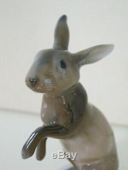 ROSENTHAL Art Deco Porellan-Figur Hase #724 Himmelstoss PORCELAIN HARE FIGURINE