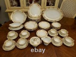 Rare! Antique Circa 1933 Art Deco Noritake 3915 Symphony 48 Pc Dinnerware Set