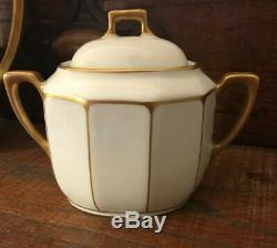 Richard Ginori Pittoria Italian Coffee / Tea Set For One. Art Deco