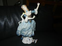 Rosenthal Gustav Oppel Porcelain Figurine Lady Dancing